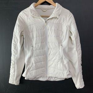 Lululemon Extra Mile Puffer Jacket Coat White HTF